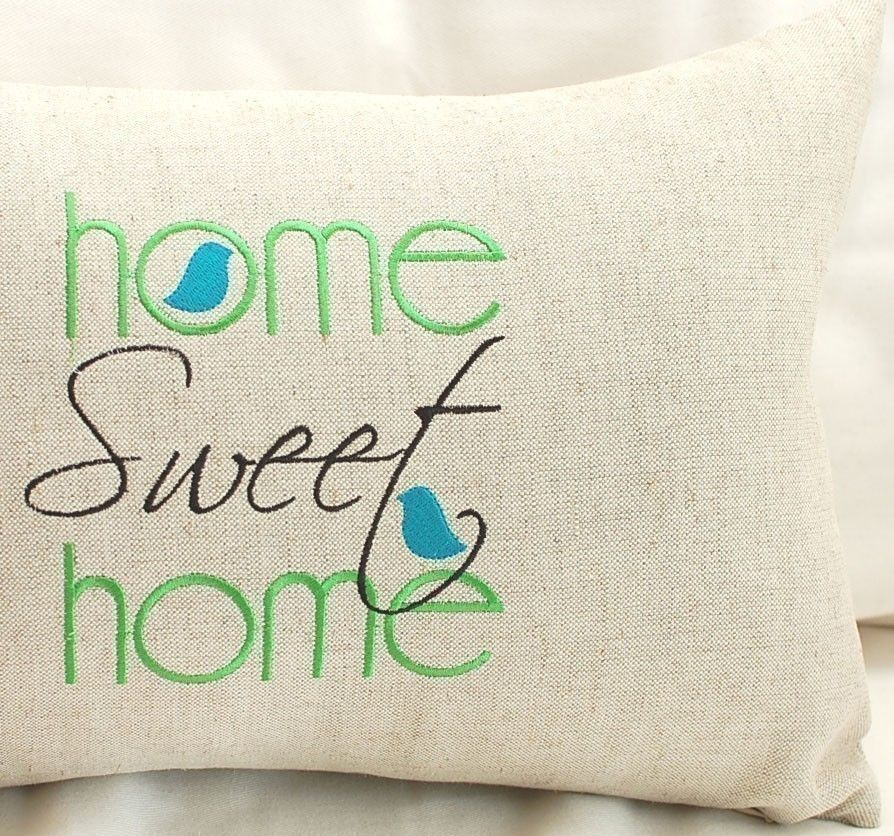 Home Sweet Home Machine Embroidery Design Craftspiration