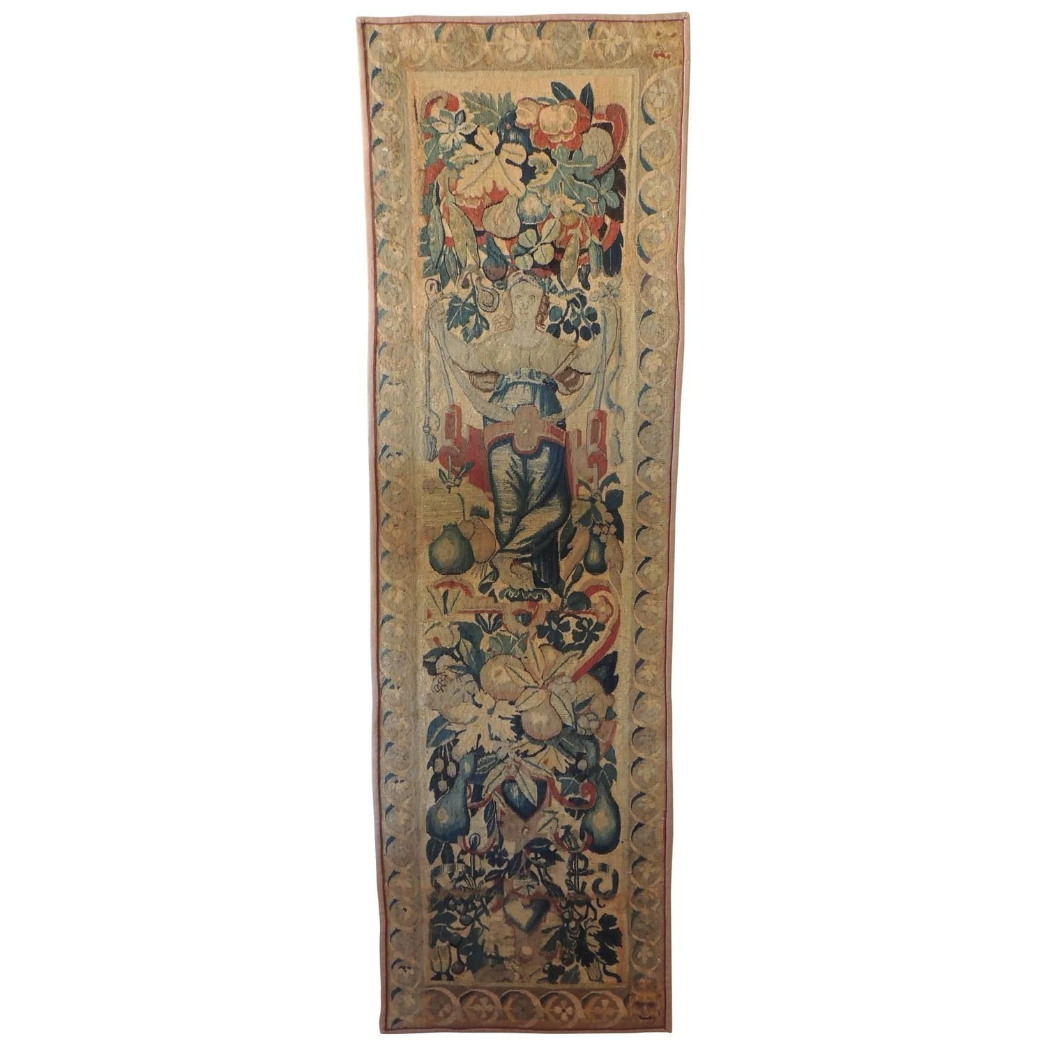 18th Century Aubusson Tapestry Wall Hanging