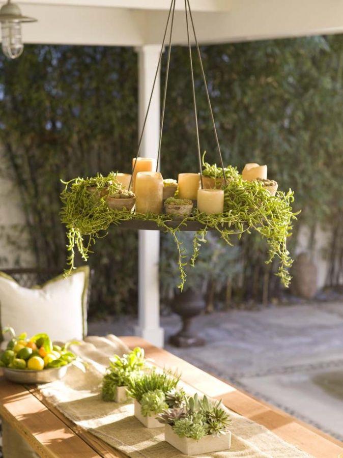 Kerzenlicht sorgt f r romantische stimmung gartendeko for Romantische gartendeko