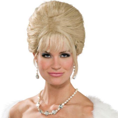Blond Beehive Wig 100