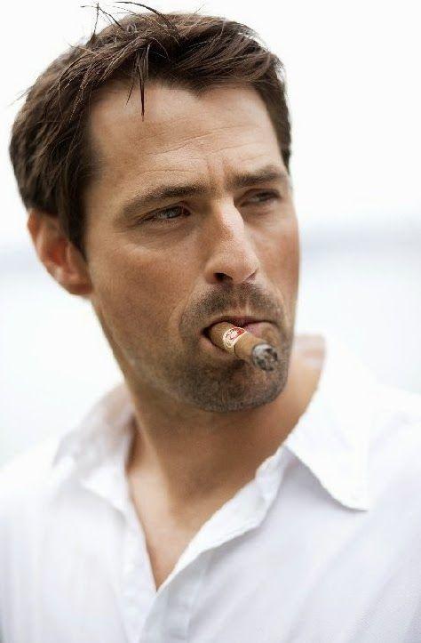 Cigar Smoking Hunks | Cigar Smoking Men No. 3 | Pinterest