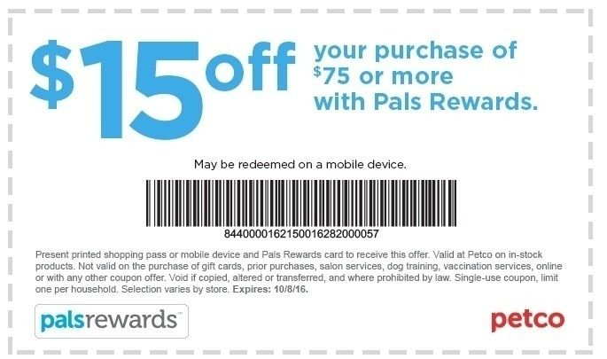 photograph relating to Petco Coupons in Store Printable known as Petco Printable Discount coupons 2018 World-wide Of Template Layout