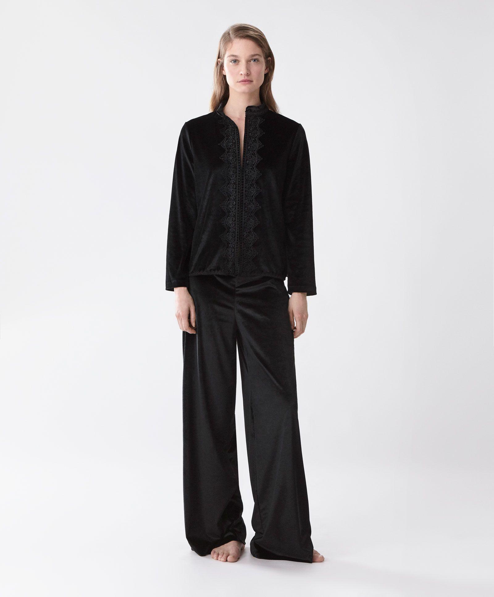 otoño invierno 2017 largo de pantalones mujer