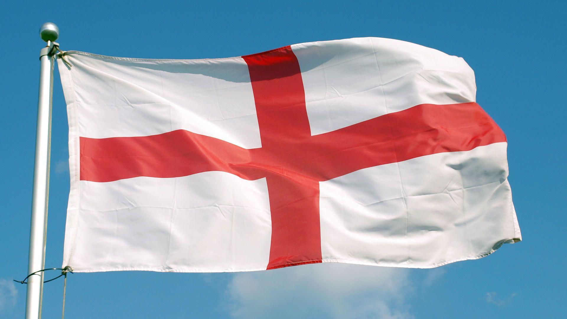 Cruz de San Jorge o Bandera de Inglaterra   Flags of the world ...