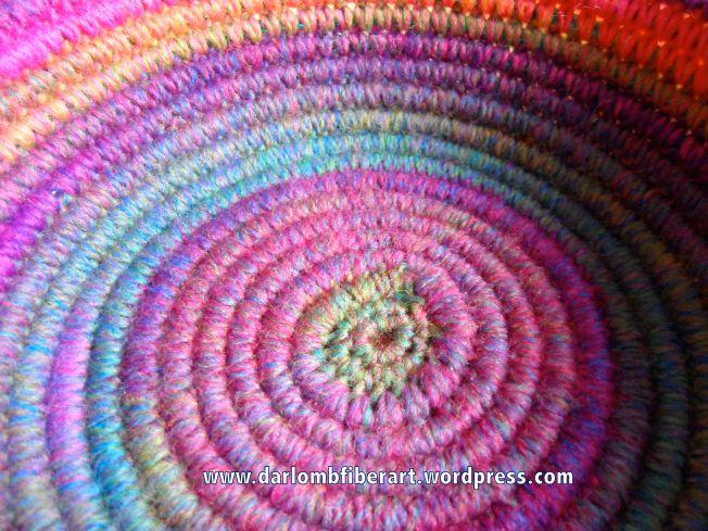 Crochet Coiled Basket Guidelines & Ideas   Mantas tejidas, Ganchillo ...