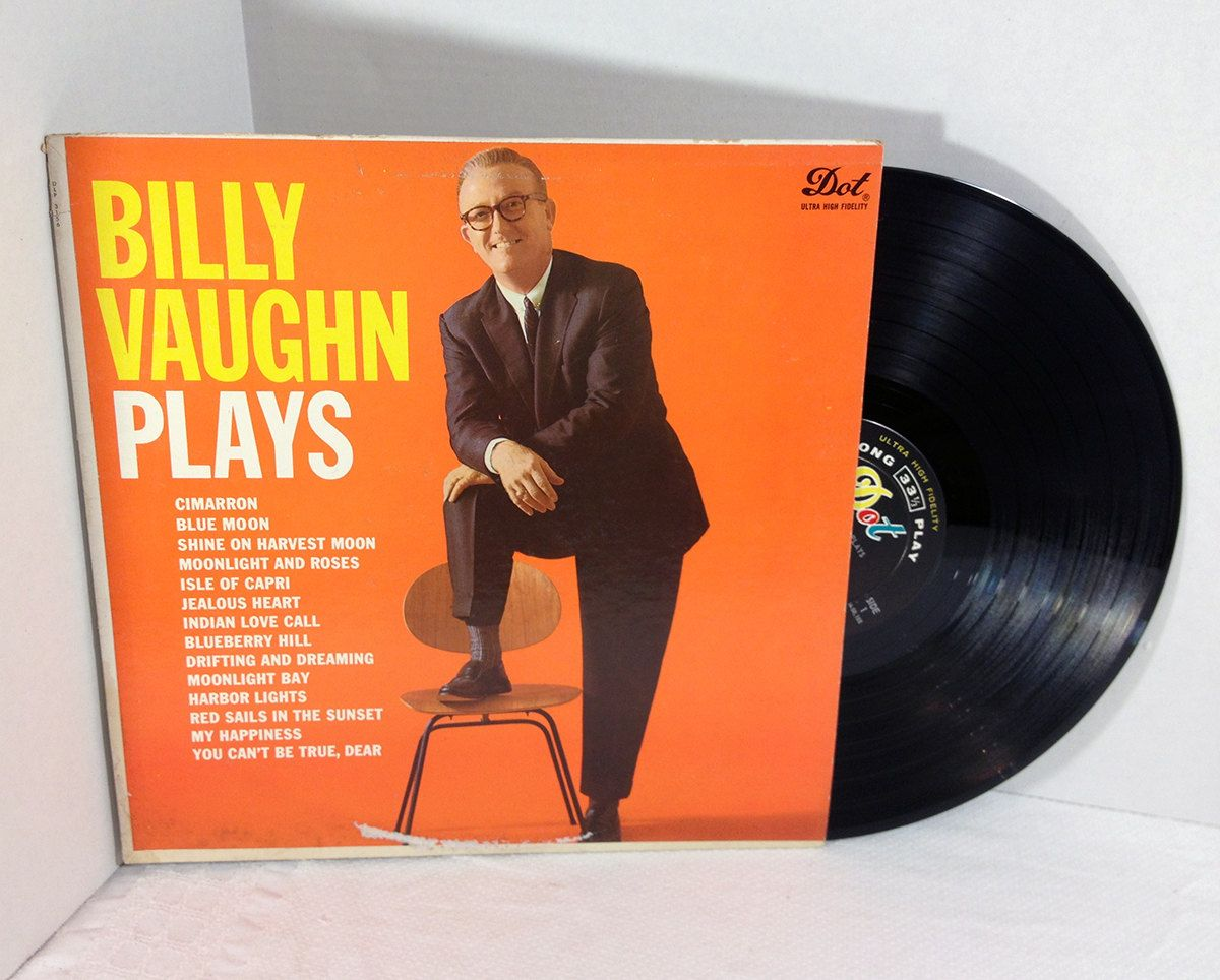 Image result for image, photo, picture, album cover billy vaughn plays