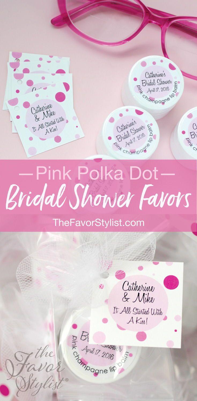 Bridal Shower Lip Balm + Custom Labels + Tags | Bridal showers ...
