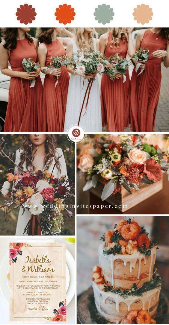 Photo of Consejos de invitación de boda de otoño, invitación de boda rústica, invitación de boda simple …
