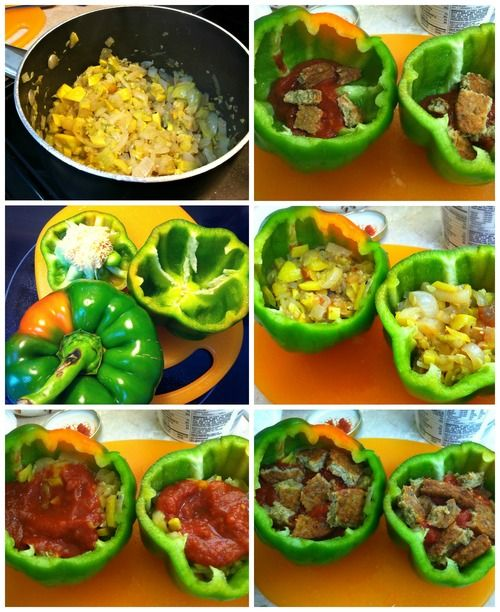Undressed Skeleton Stuffed Peppers Recipes Peppers Recipes
