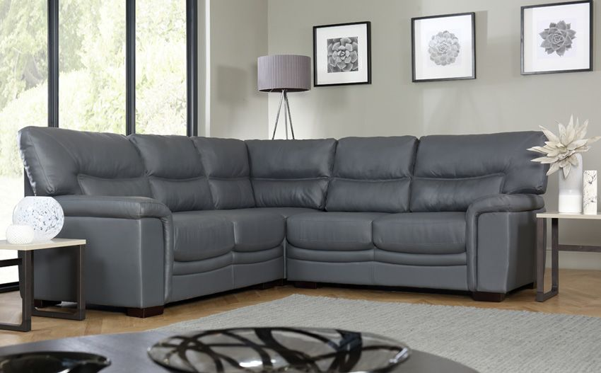 Gray corner sofas; lead you to trendy fashionable world ...
