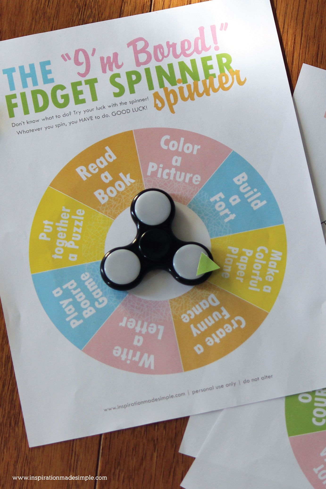 Photo of Fidget Spinner Spinner Boredom Buster – Inspiration Made Simple