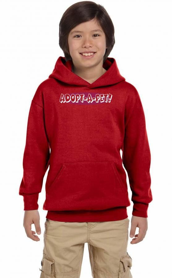 adopt a pet 3 Youth Hoodie