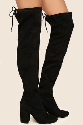 Steve Madden Norri Over-the-Knee Boot (Women's) PL4dHeF