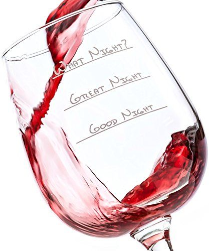 What Night Funny Wine Glass 13 oz Best Christmas Gifts For Women