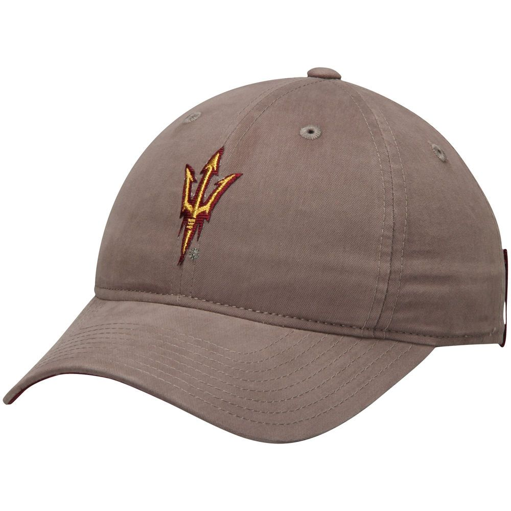 factory price eb7b4 db691 Women s adidas Gray Arizona State Sun Devils Fan Slouch Adjustable Hat