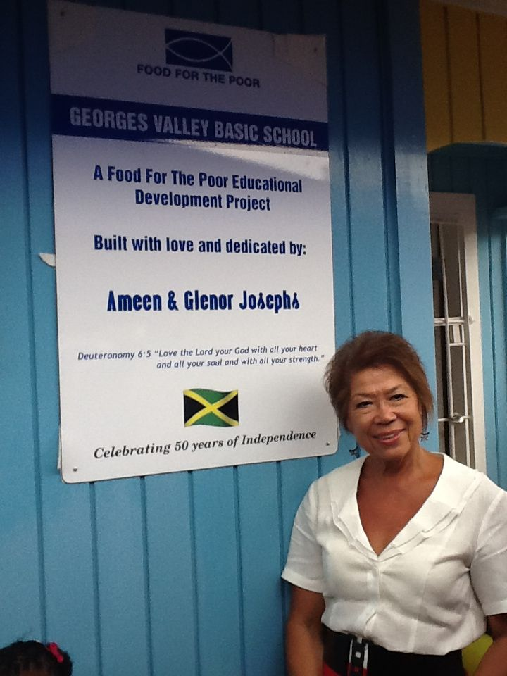 Georges Valley Basic School Dedicated By Ameen And Glenor Josephs