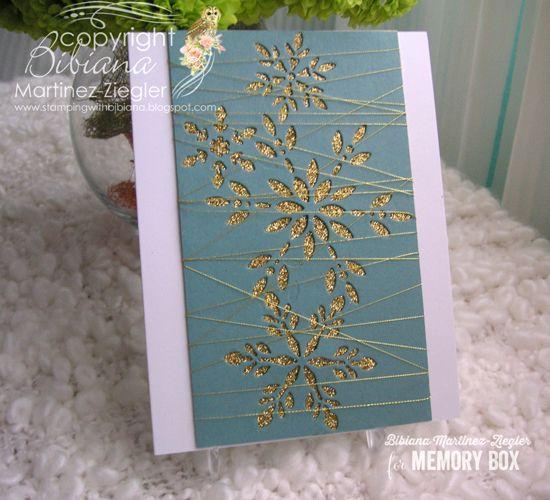 Memory Box 99186 Snowflake Collage craft dies