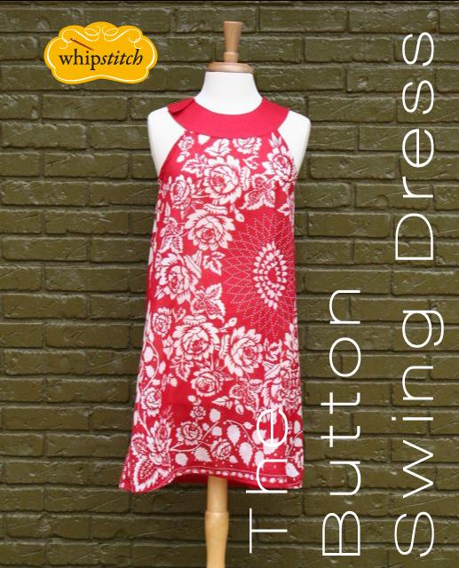 button swing dress pattern | whipstitch