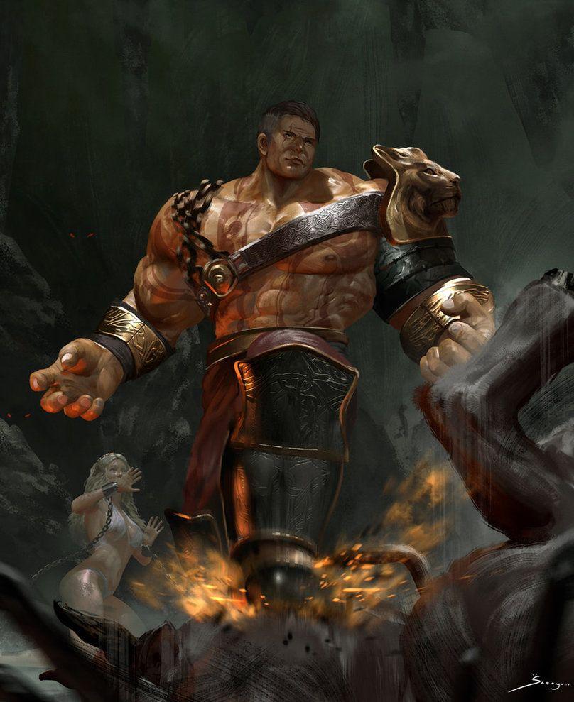 Hercules By Ron-faure.deviantart.com On @DeviantArt