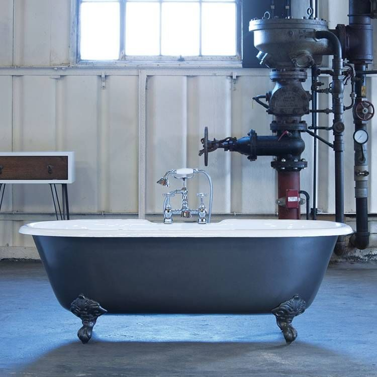 MOULIN CAST IRON BATH DOUBLE ENDED | For the Home | Pinterest | Iron ...