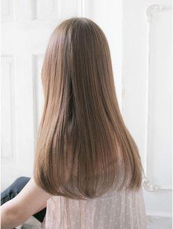 リリアン 表参道店 Relian 自然な縮毛矯正 ベージュ系カラーが絶対に