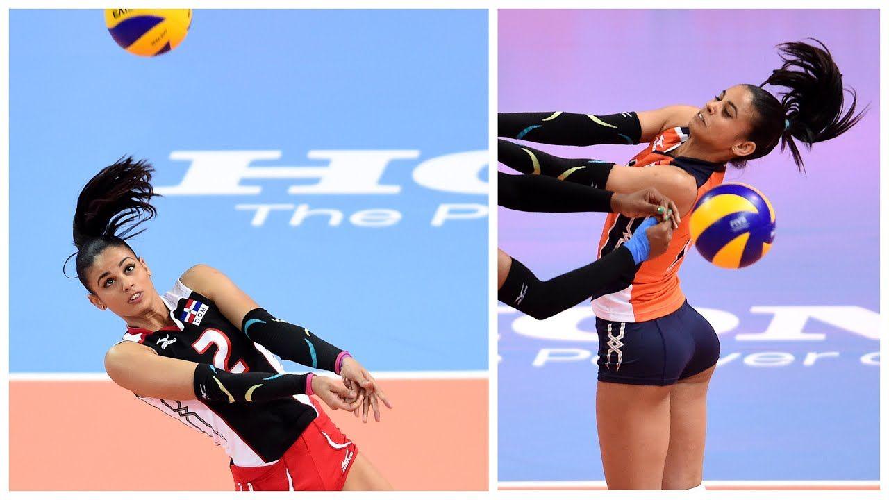 Beautiful Volleyball Player Winifer Fernandez Hd Youtube Winifer Fernandez Female Volleyball Players Volleyball Players