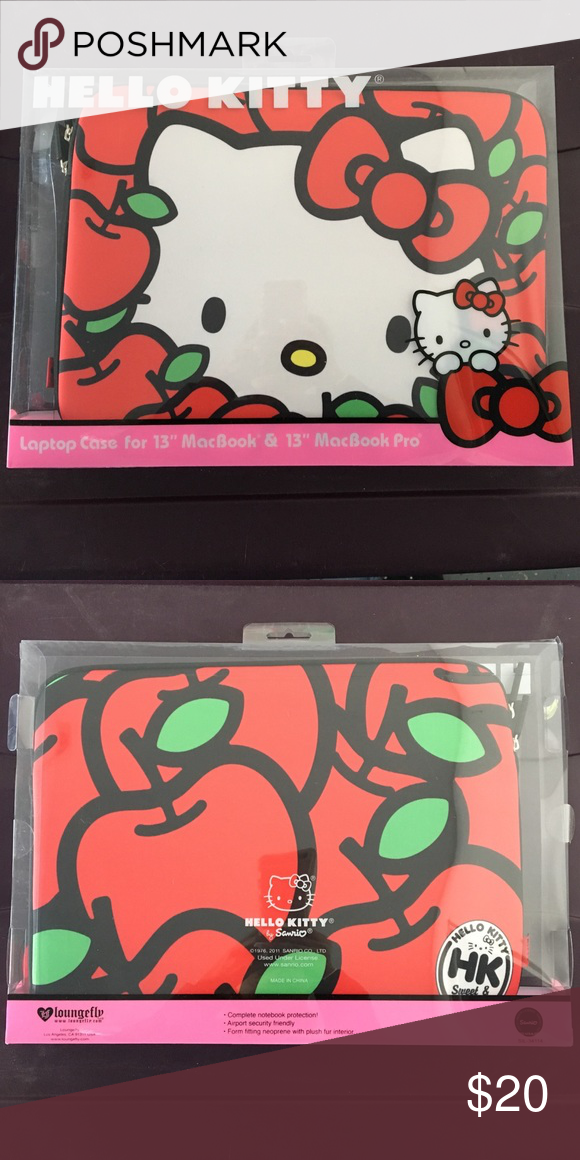 be9785451 Hello Kitty - Laptop Case For 13