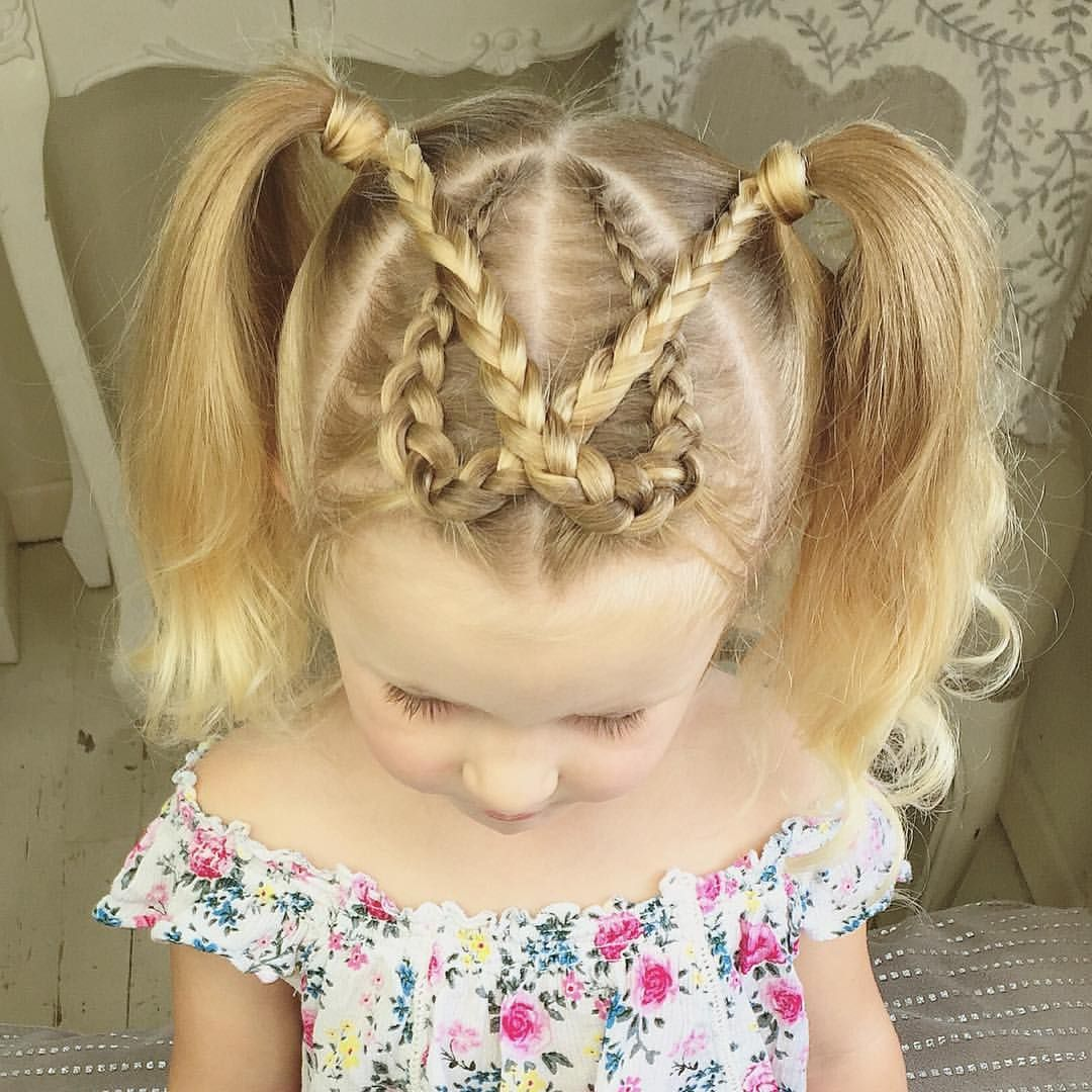 How cute are these dutch braid on little baylee inspired by