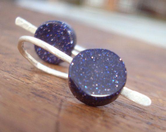 Little Galaxies // Dark BluePurple by needfulThingsJewelry on Etsy, $24.00