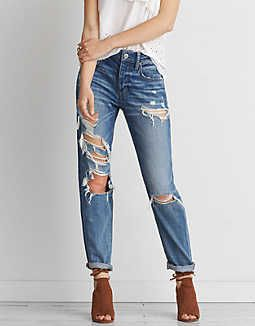 f0407d6244f Tomgirl Jean, Destroy Is A Thing | American Eagle Outfitters | Katie ...