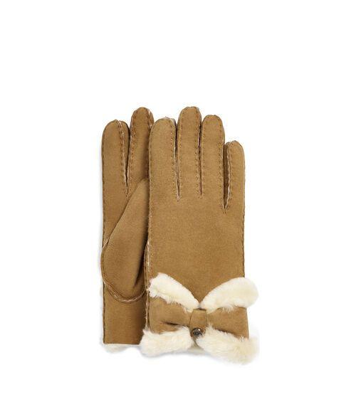 Sheepskin Turned Bow Glove