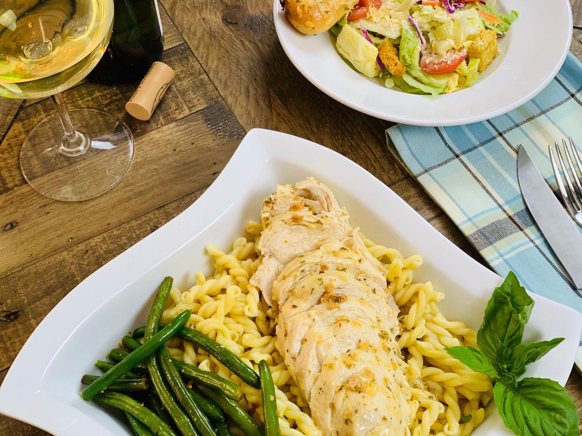 Instant Pot Olive Garden Italian Dressing Chicken