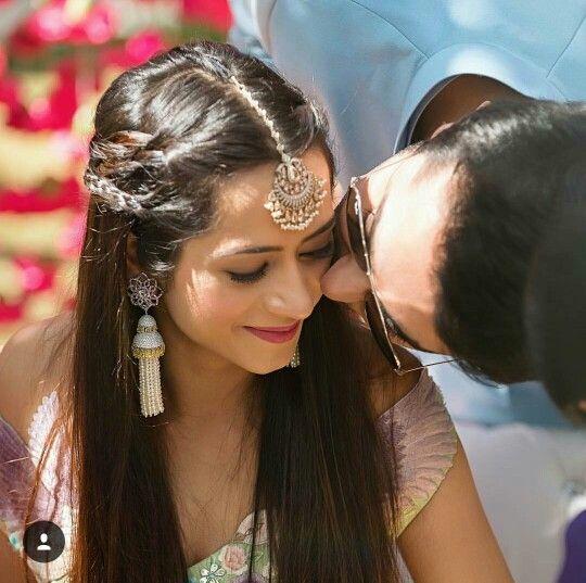 Maamg Tikka Hairstyle Half Do Hair Pinterest Indian Wedding