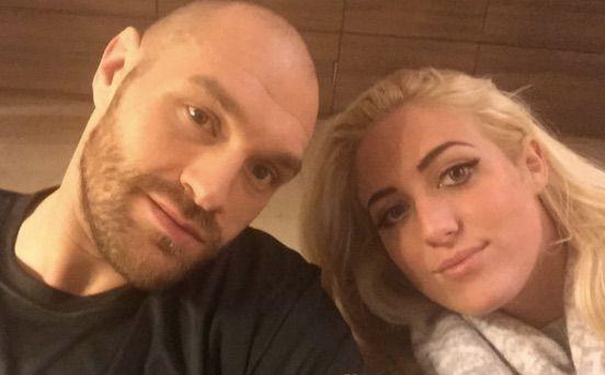 Tyson Fury Wife Paris Fury Tyson Fury World Boxing First Boyfriend