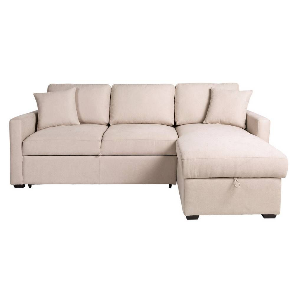 Buy Argos Home Reagan Right Corner Fabric Sofa Bed Natural Sofa Beds Fabric Sofa Bed Fabric Sofa Argos Home