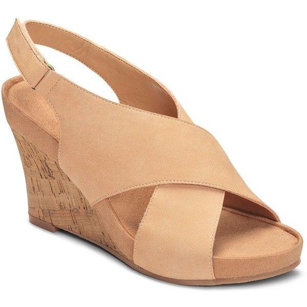 Womens Sandals Aerosoles Cherry Plush Light Tan