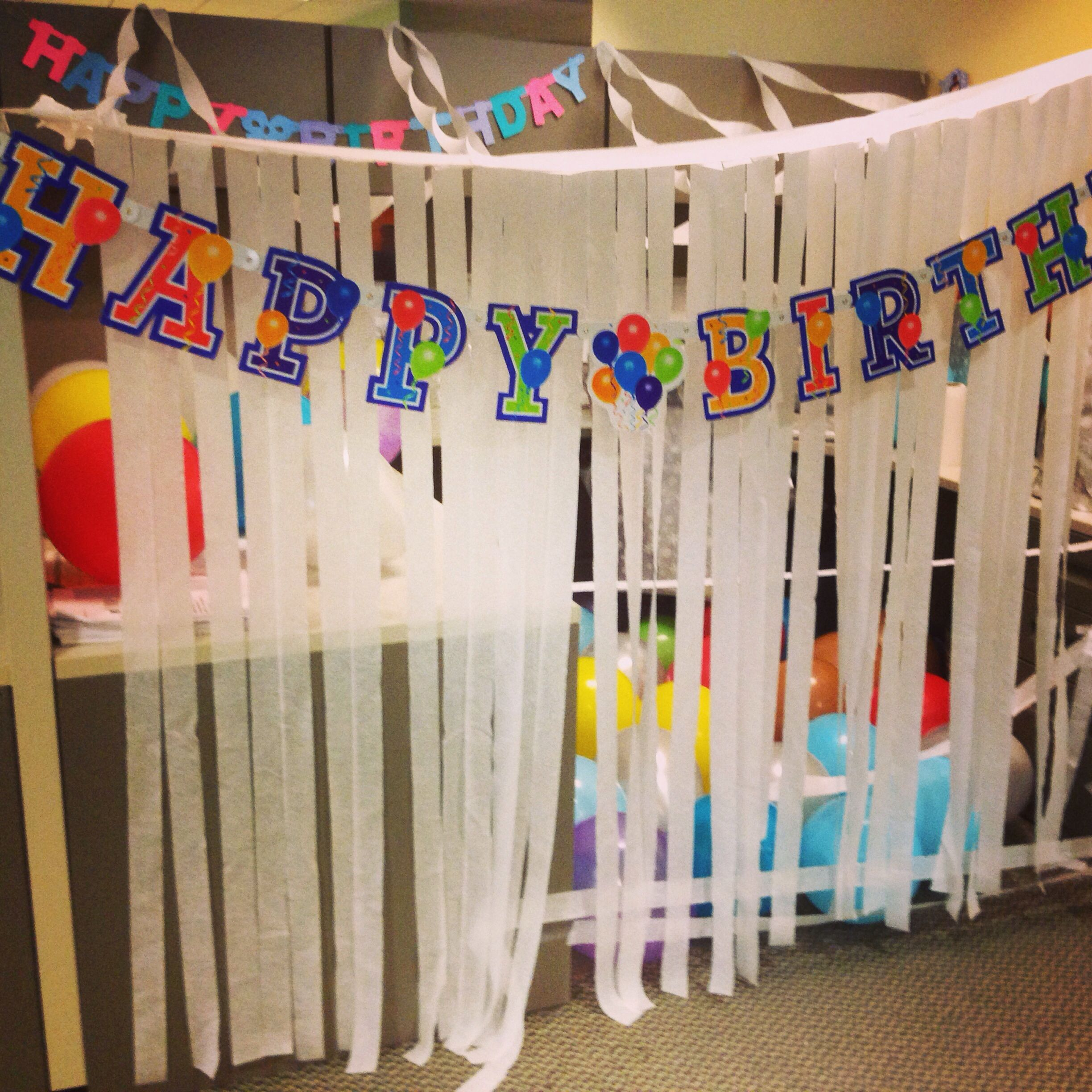 Happy Birthday Office Decorations For Co Worker More