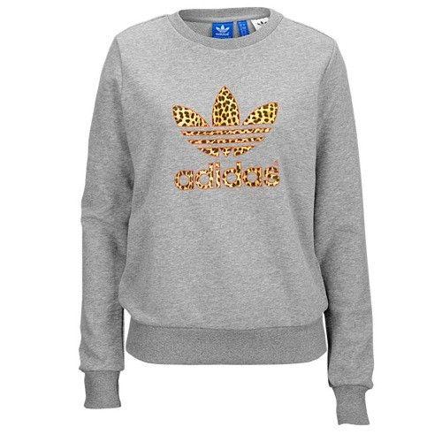 Tref Leopard Pinterest Originals Sweater Adidas Ywv51qv