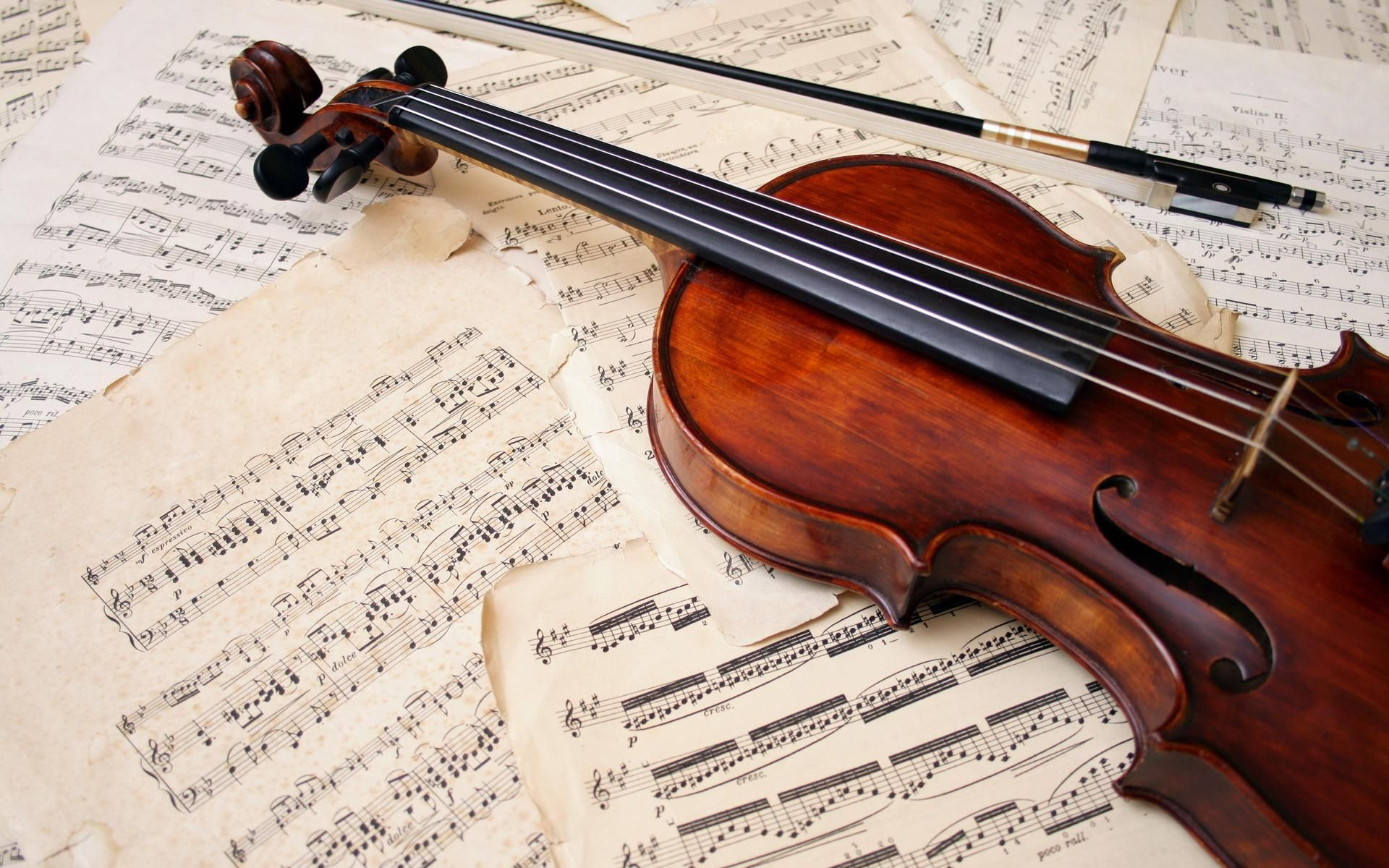Violin Computer Wallpapers Desktop Backgrounds 2560x1600 Id 391320 Violin Sheet Music Violin Music Instruments