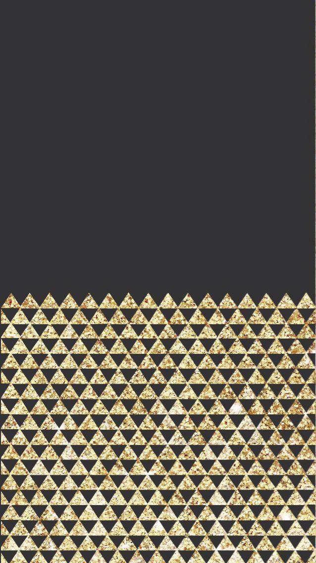 IPhone Wallpaper Black And Gold