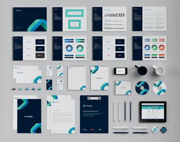 25 Inspirational Examples Of Brand Presentation Diseno De Marca Diseno De Identidad Corporativa Disenos De Unas