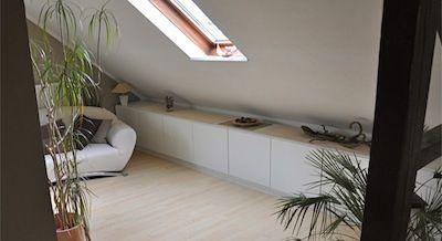 Kasten onder schuin dak ikea google zoeken zolder ideetjes pinterest ikea kasten en zoeken - Geschilderd slaapkamer model ...