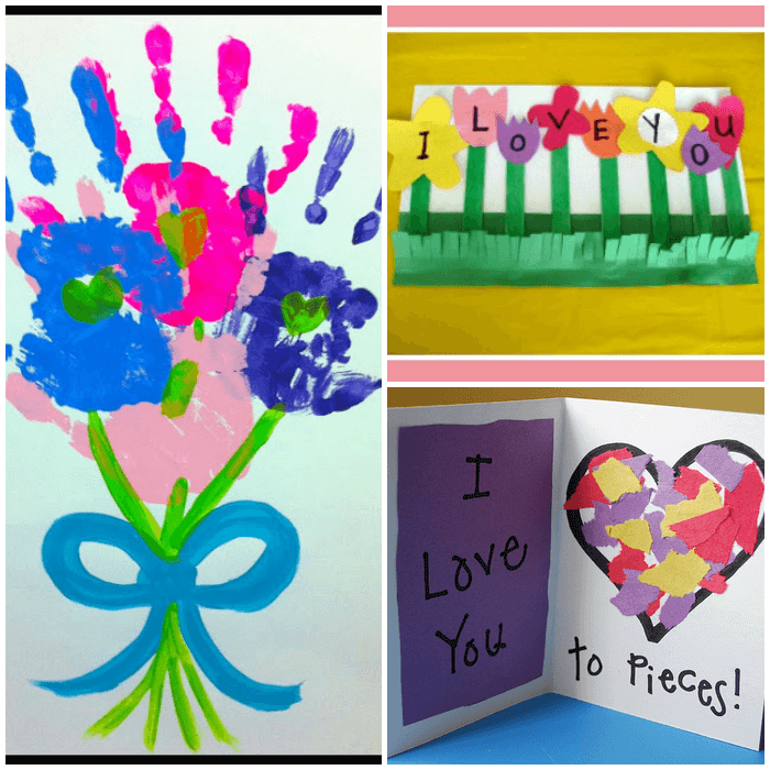 Easy Mother S Day Crafts For Preschoolers Poems For Parents Easy