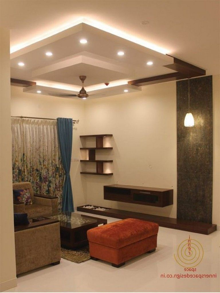 65 New False Ceilings With Cove Lighting Design For Living Room Livingroomideas Ceiling Design Living Room Kitchen Ceiling Design Bedroom False Ceiling Design