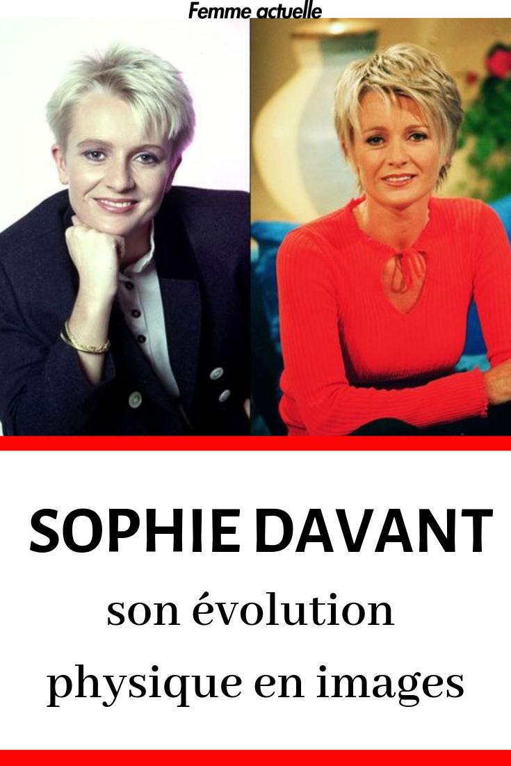 Sophie Davant Son Evolution Physique En Images Sophie Davant Evolution Davant