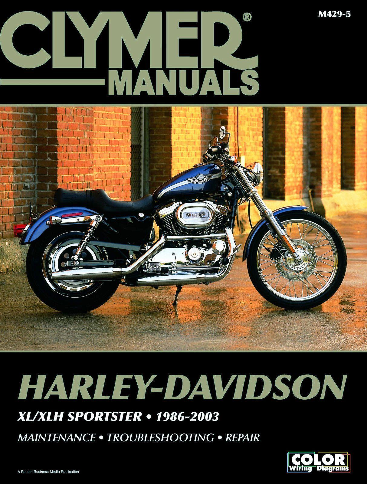 Clymer Repair Manual Harley-Davidson XL/XLH Sportster 1986-2003 M429-5