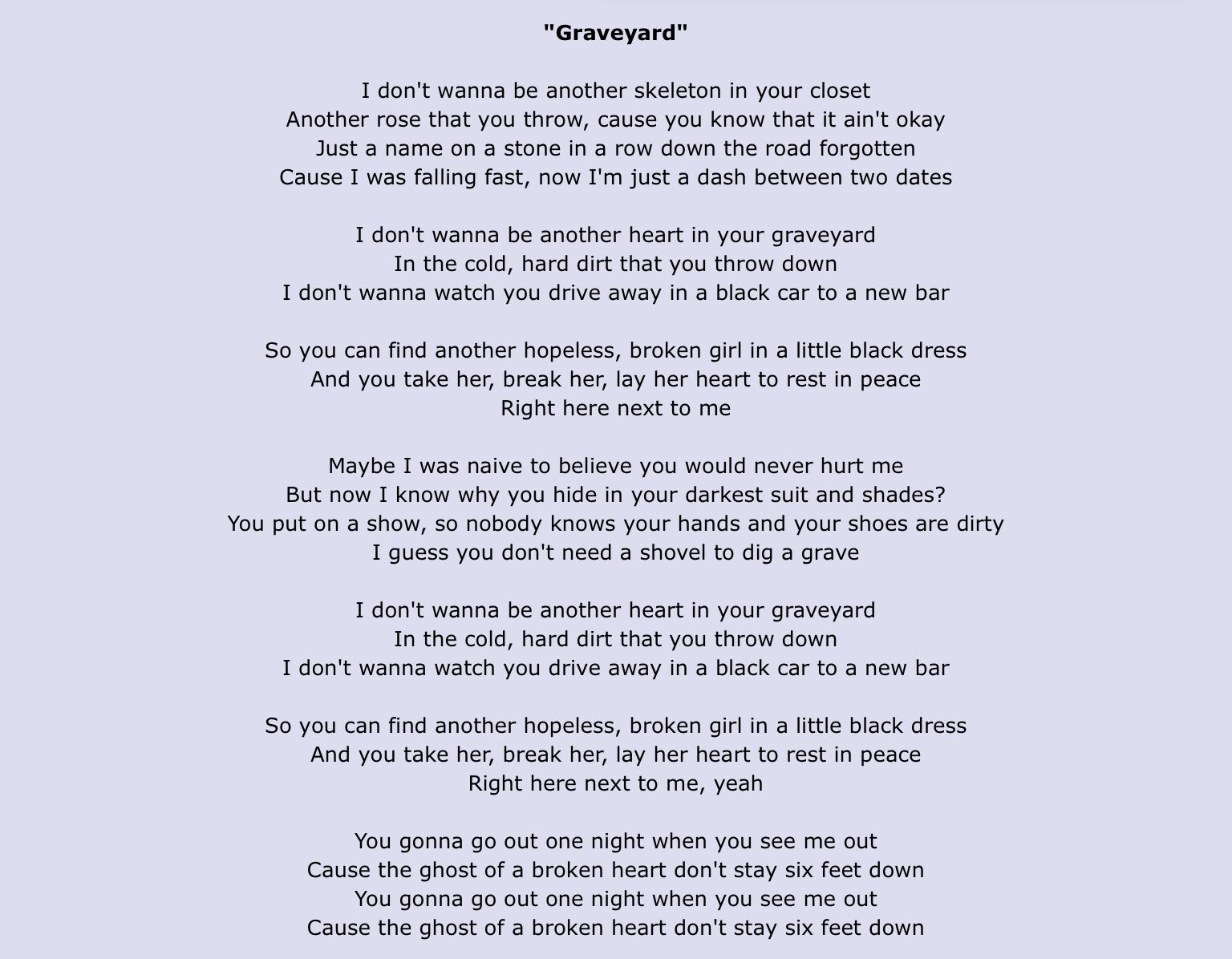 Now I M Just A Dash Between Two Dates Beautiful Lyrics