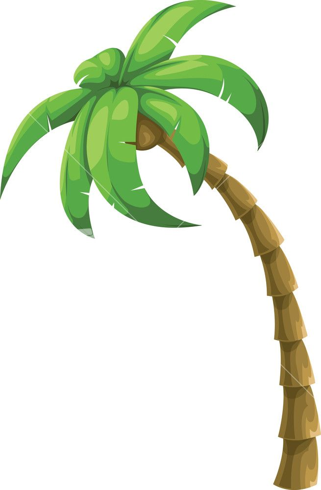Green Coconut Tree Vector Flat Summer Decoration Poster Summer Tourism Leave The Png Coconut Tree Summer Decoratio Tree Art Tree Wallpaper Art Pine Tree Tattoo