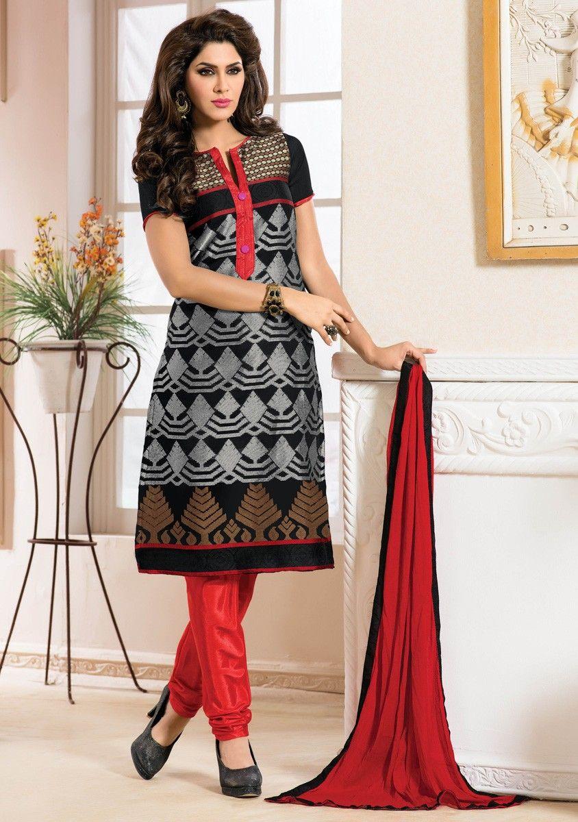 Hina Khan Orange Georgette Anarkali Suit | Salwar Kameez ...