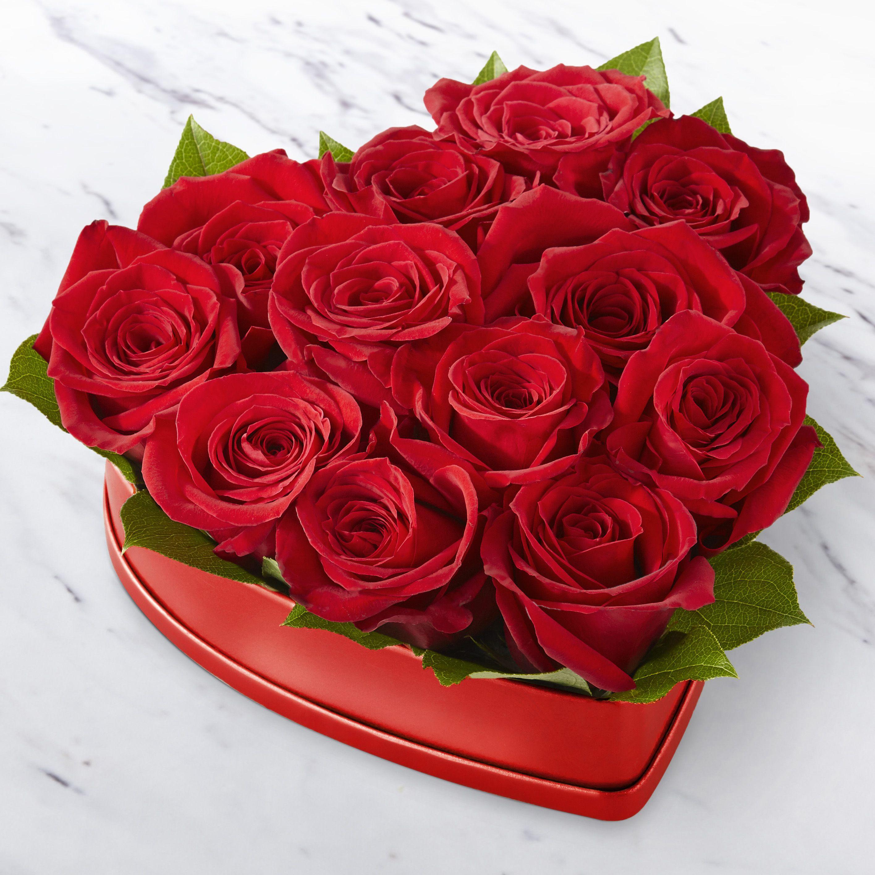 Lovely Red Rose Heart™ Box in Miami Beach, FL Miami